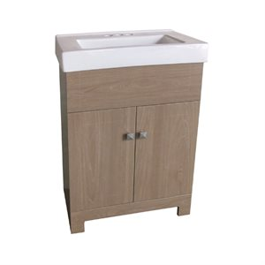"24"" MDF Bathroom Vanity basin Barnboard"