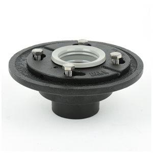 Round Shower Drain Base 2½in x 6- 5 / 8in x 3in