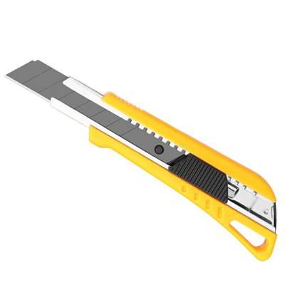 Heavy Duty Snap-Off Utility Knife Auto-Lock Blade 18x05x100mm