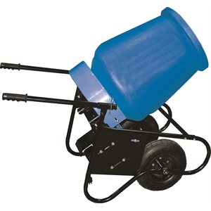 3.5CuFt Cement Mixer Wheelbarrow style