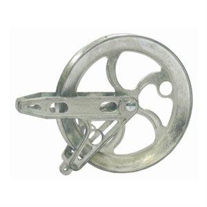 CY78655 Pulley 6 ½in Zinc Copper Bushing