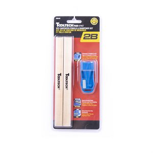 4 Carpenter Pencils &Sharpener
