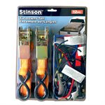 12PC Tie Downs Set