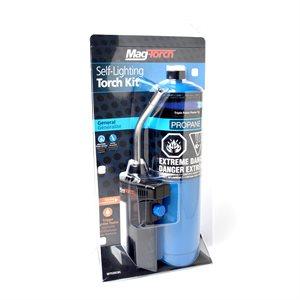 Regulated Self-Lighting Propane Torch Kit 2pc