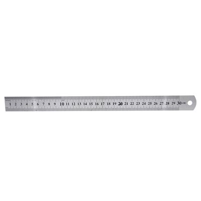 12in Steel Ruler
