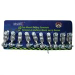10 pc Top Mount Battery Terminals