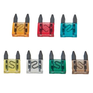 15 pc Mini Auto Plug-In Fuses