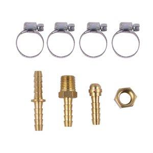 6 pc Air Hose Repair Kit