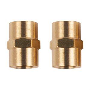 2PC Connecteurs Femelles De Tuyaux D'Air