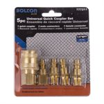 5 pc Universal Quick Coupler Set