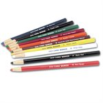 12pk China Markers - Paper Wrapped Red