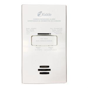 120V Co Alarm Ac Plug In W / Aa Battery B / U