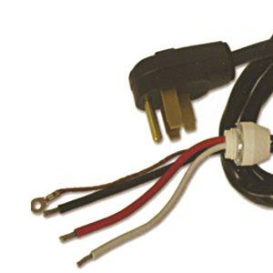 Stove Cord Kit 8 / 2-10 / 2 DRT 1.5m Black