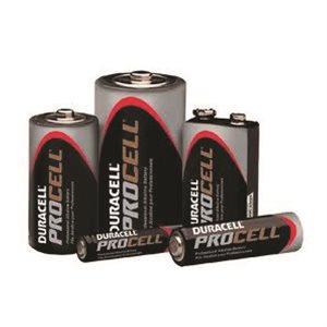 12Pk Procell Alkaline Battery 9V