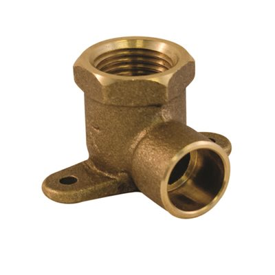 ½ X 90 Copper Fip Wing Back Elbow
