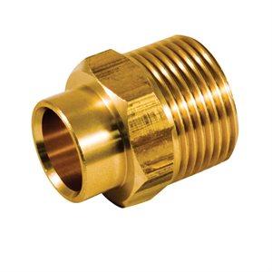 ½X¾In Copper Mip Adaptor