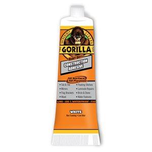 2.5oz Gorilla Construction Adhesive Tube