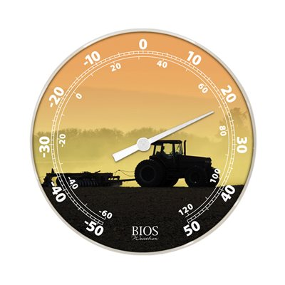 12in Dial Thermometer - Tractor