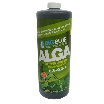0.1-0-5 Liquid Seaweed Big Blue Fertilizer 1L