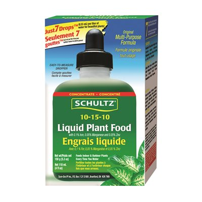 10-15-10 Liquid Plant Food 150G