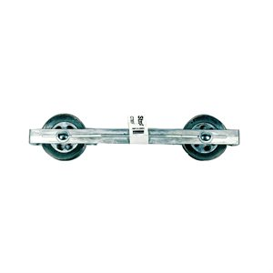 Clothesline Divider Alum. 10in W / Alum. Wheel