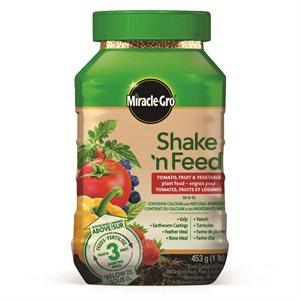 10-5-15 Shake 'N Feed Tomatoes Fruits & Vegetables 453g