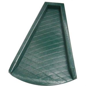 Rain Guard Plastic Green 24in x 14in