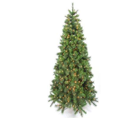 Hastings Pre-Lit Artificial Christmas tree Slim Profile 9ft