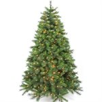 Hastings Pre-lit Artificial Christmas Tree 7-1 / 2ft