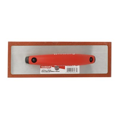12inX4in Red Rubber Float