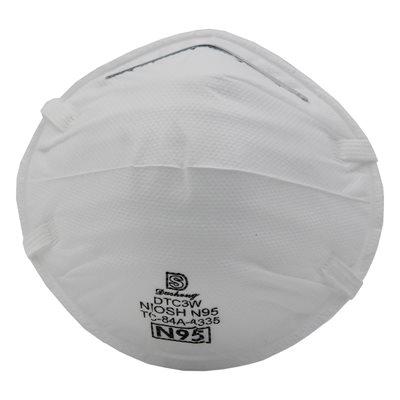 20PC Disposable Face Masks N95 White